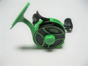 13 FISHING BLACK BETTY FREEFALL GHOST RADIOACTIVE PICKLE LEFT HAND INLINE REEL