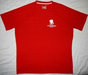 Mens EUC Red UNDER ARMOUR Heat Gear WWP S S Training Shirt size L $9.99