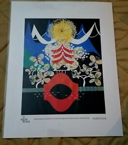 Its A Small World Japan Art Tableau By Mary Blair $28.00