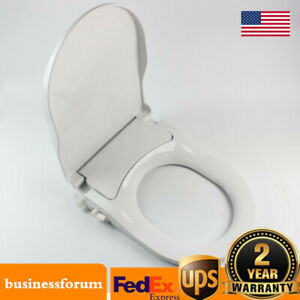 Fresh Water Non Electric Bidet Toilet Seat Attachment Spray Cleaning Dual Nozzle $39.00