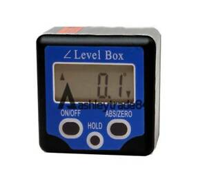 Digital LCD Protractor Angle Finder Level Box Inclinometer Meter Magnetic $35.82
