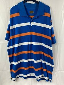 Foundry Polo Men's 3XL Blue and white Read $12.95