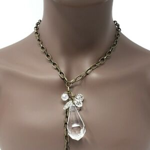 Crystal Necklace Gemstone Pendant