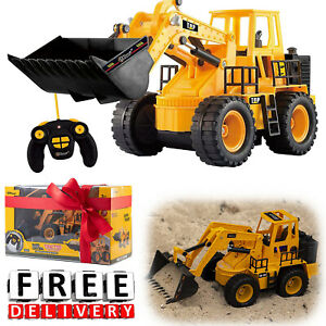 Remote Control Construction Toys Toy Tractor Loader Electric Toys For Boys Gift $49.94