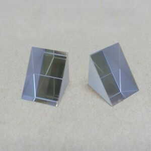 Optical Glass Right Angle Triangle Isosceles Prism Reflection Physical Ray Total $14.35