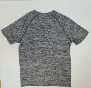HIND Running Shirt Gray Athletic Workout Gym T shirt Mens M EXCELLENT CONDITION $14.00
