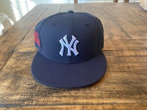 New York Yankees Navy Blue New Era Fitted 1997 World Series 7 5 8 Red Under brim $50.00
