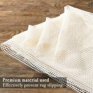 Hot Non Slip Area Rug Pad Gripper 5 x7 Ft Protection for Any Hard Surface Floors $10.99