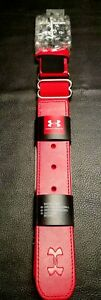 Brand New Red Under Armour UA ADULT Baseball Softball Belt Fits Up to Size 42quot; $12.90