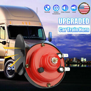 12V 300DB Super Loud Train Air Horn Waterproof for Motorcycle Car Truck SUV Boat $9.96
