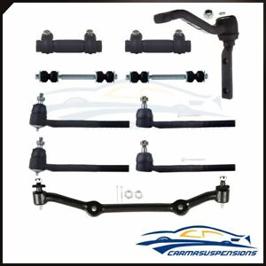 10pcs Front Suspension Kit Tie Rods Center Link Idler Arm For Chevy Blazer 2WD $67.54