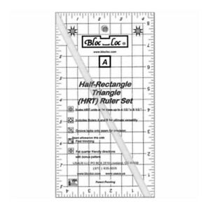 Bloc Loc Half Rectangle Triangle Large 2 1 Acrylic Ruler $59.69