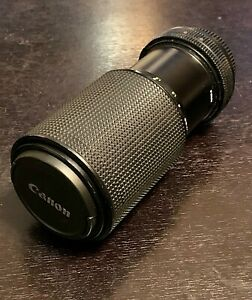 Vintage for CANON LENS 80 205mm Telephoto Zoom Macro for CANON manual