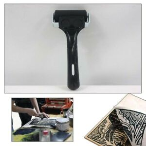 6cm Painting Soft Rubber Roller Brayer Stamping Printing Screening Ink Tool new