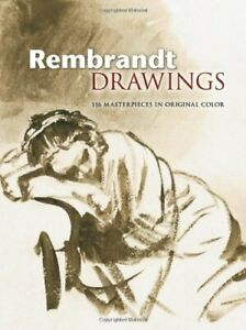 REMBRANDT DRAWINGS: 116 MASTERPIECES IN ORIGINAL COLOR Hardcover $45.75
