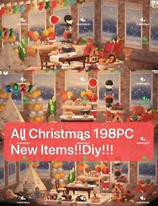 Animal;Crossing:New;Horizons Christmas Thanksgiving All Items 198PC Winter NEW $11.99