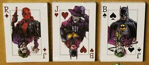 BATMAN THREE JOKERS PROMO PLAYING CARDS SEALED SET OF 3 X 25 BATGIRL RED HOOD