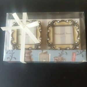 Set of two minature Ornate frames in nice gift box. $10.00