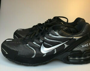 Nike Mens Air Max Torch 4 Running Anthracite Metallic Silver Black Shoes Size 11 $75.99