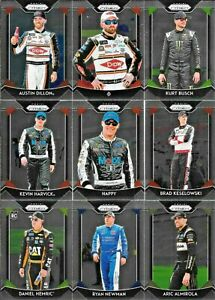 2019 PRIZM RACING COMPLETE BASE SET 100 CARDS *INCLUDES 10 VARIATIONS* $13.95
