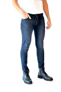 Men#x27;s Denim Jean Pants Skinny Fit Stretch Casual Designer Jeans Five Star Slim