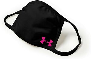 Face Mask Black Under Armour Pink SAME DAY SHIPPING reusable washable $8.00