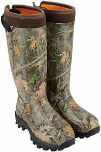HISEA Apollo Basic Hunting Boots for Men Waterproof Insulated Rubber Boots Rain