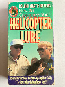 Fishing Roland Martin Helicopter Lure How to Customize 1994 VHS