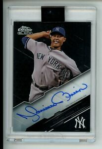 2020 Topps Chrome Black MARIANO RIVERA Encased Autograph Auto $200.00