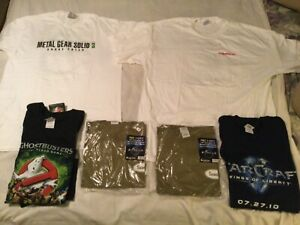6 Video Game T Shirts Bundle Brand New Never Worn see description $375.00