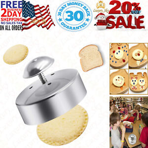 Sandwich Cutter and Sealer for Kids 3 1 2 Inch Stainless Steel Round Sandwich $21.95