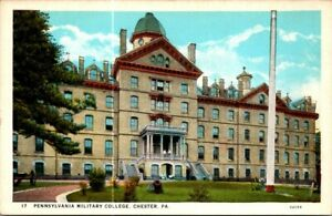 Postcard Pennsylvania Military College Chester Pa $12.50