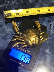 Realistic Fishing Crab Lure 13.8g SEE PICTURES New In Sealed Bag