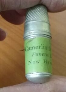 CAMERLIN amp; REES Inc. New Haven CT sewing kit vintage $9.99