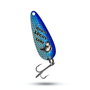 Dads Lucky Lure  Fishing Gift Lures Custom Fishing lures Fishing Spoons