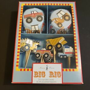 Meri Meri Big Rig Cupcake Cases and Assorted Toppers $9.00