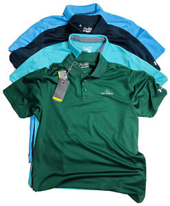 Under Armour Golf Polo Shirts Heat Gear Loose Fit Lot Of 4 Medium Cool Dry Light $55.00
