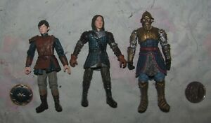 2008 Lot of 3 The Chronicles of Narnia Figures Edmund Caspian C $15.99