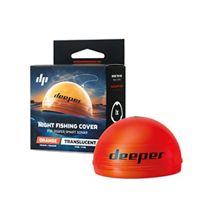 Deeper Night Fishing Cover orange � Compatible with Deeper Smart Sonars