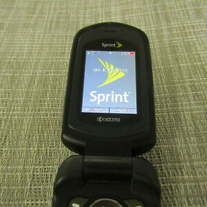 KYOCERA DURAXT SPRINT CLEAN ESN WORKS PLEASE READ 40074