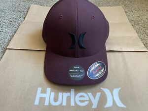 $30 BRAND NEW HURLEY NIKE DRI FIT HAT ONE ONLY OAO DF CAP FLEXFIT S M L XL $21.59