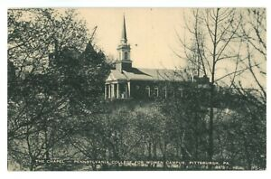 Pennsylvania College for Women Campus Pittsburgh Chapel Postcard $9.99
