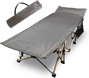 CAMPMOON Folding Camping Cots Adults 500 Lbs Heavy Duty Sturdy Portable Sleeping