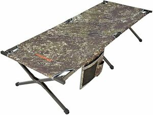 KingCamp Extra Large Camping Cots Adults Heavy Duty Portable Camouflage Hunting