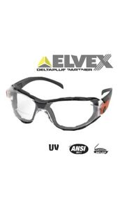 """Elvex Go Specsâ""""¢ Motorcycle Shooting Safety Clear Lens Anti Fog ANSI UV Prote $9.75"""