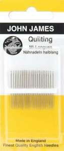 Quilting Betweens Hand Needles Size 11 12 Pkg 783932201522 $6.39