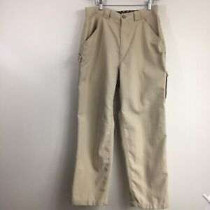 The North Face Mens Khaki Pants Tekware Casual Hiking Outdoor Camping Jeans 34
