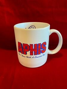 Aphis Ready Mix Concrete Cement Truck Mixer Brand Vtg Coffee Mug Cup Diner WA $19.49