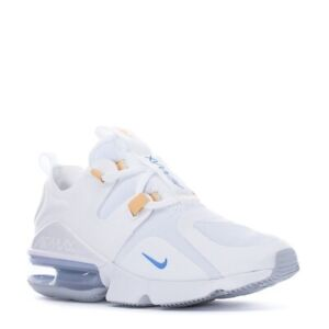 Nike Womens Air Max Infinity Running Shoes White University Blue BQ4284 103 NEW $59.99