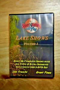 Sport Fishing on the Fly Lake Shows Volume 1 with Don Freschi amp; Grant Fines